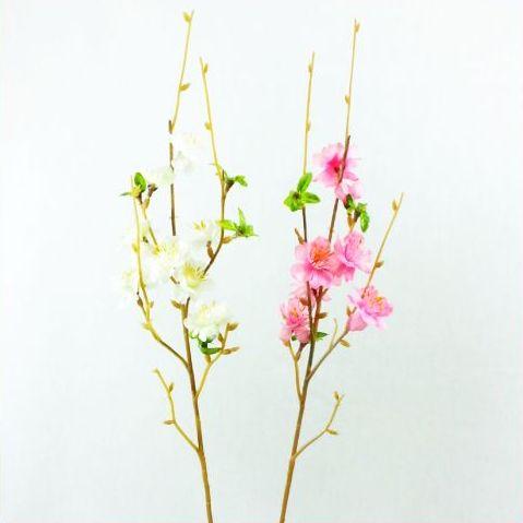 【造花】桃スプレー・もも・モモ・桃【桃 果物】ひな祭り   5929