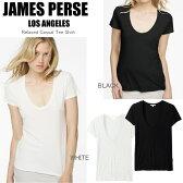【メール便OK】 ジェームスパース JAMES PERSE Tシャツ Relaxed Casual Tee リラックス カジュアル Tシャツ 柔らかコットンTシャツ SALE【楽ギフ_○○】【RCP】【ca】