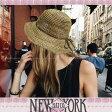 【送料無料】 NEW YORK HAT ニューヨークハット ストローハット 麦わら帽子 Sea Grass Framer(海藻)NATURAL 紫外線対策 雑誌掲載 【楽ギフ_○○】【RCP】