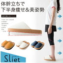 【送料無料】 体幹を整えるスリッパ Sliet(スリエット) 【トレーニング/バランス/健康