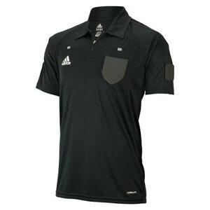 アディダス サッカー フットサル レフリーシャツ ブラック レフェリー