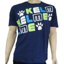 KELME ケルメ Tシャツ 半袖 フットサル サッカー KT1181S ネイビー 紺