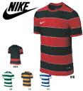 (背番号付き)NIKE ナイキ サッカーシャツ プラクティスシャツ 743360 プラシャツ 練習着 ユニフォーム チーム ボーダー DFディビジョンII S/Sジャージ ゲームシャツ フットサルシャツ