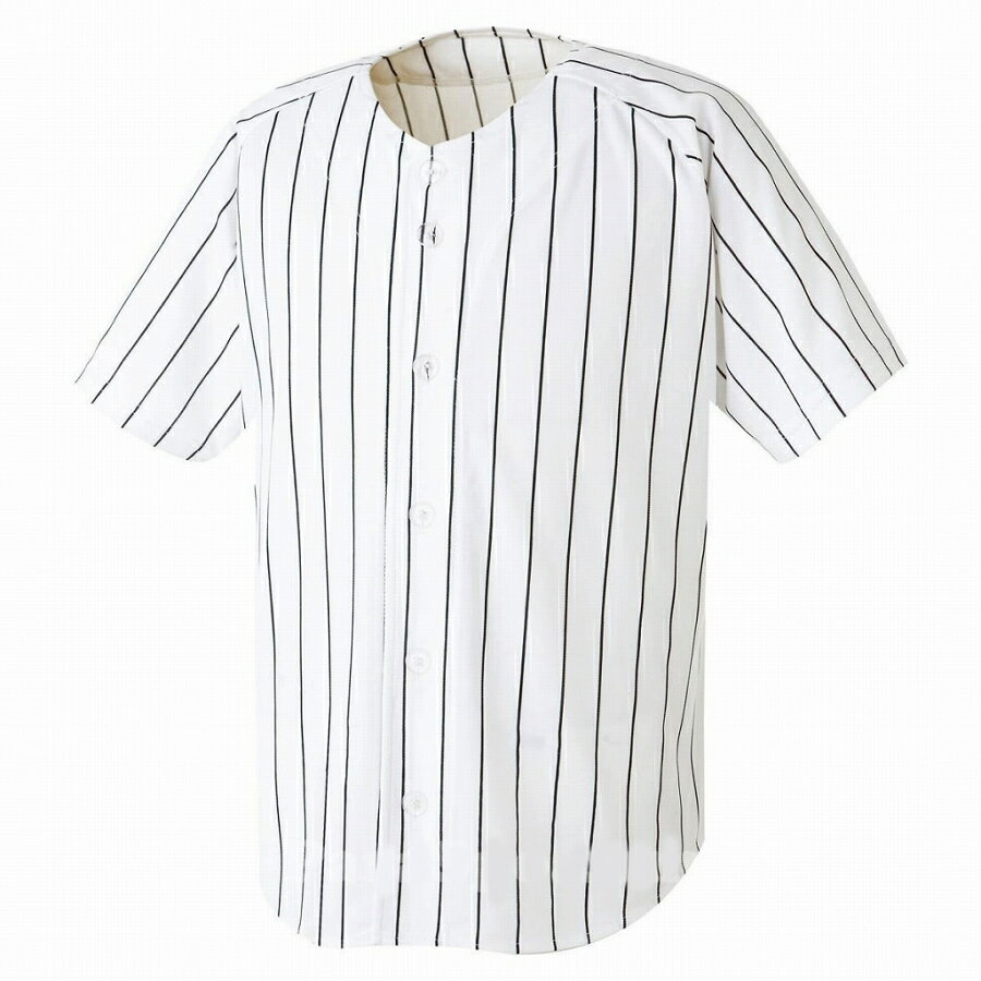 背番号付ベースボールシャツストライプシャツイベントダンス衣装野球ユニフォームS〜3XL大人用半袖シャ