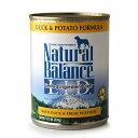 ナチュラルバランス ポテト&ダック缶 374g×24缶