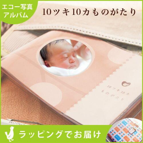 合わせ買い商品10ツキ10カものがたりおはなし付きのエコー写真アルバム