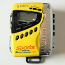 【中古】SONY SPORTS【ソニースポーツ】海外買い付け 直輸入CASSETTE WALKMANカセットウォークマンFS-497