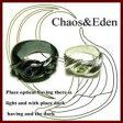 ペアリング 刻印無料 誕生石 シルバー Chaos&Eden FISS-T118-1 (FISS-MSD) 指輪 ペア アクセサリー デザインリング プレゼント 彼女 彼氏 カップル ユニーク ジュエリー シンプル 個性的 お揃い 記念日 誕生日 ペアルック 送料無料