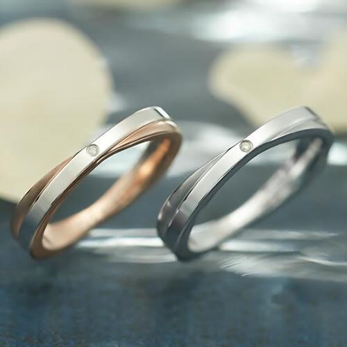 ペアリング ステンレス ブランド EVE GRSD71STRO-71SVWH 刻印 ペア ダイヤモンド カップル お揃い プレゼント サージカルステンレス316L 金属アレルギーフリー 指輪 21号 19号 17号 15号 13号 11号 9号 7号 プレゼント 誕生日 asrk 送料無料 銀婚式 指輪(2)