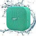 MIFA A1 グリーン Bluetoothスピーカー IP56防塵防水/コンパクト/マカロン色で可愛い/True Wireless Stereo機能でステレオサウンド/12時間連続再生/ハンズフリー通話/Micro SDカード対応 (グリーン)