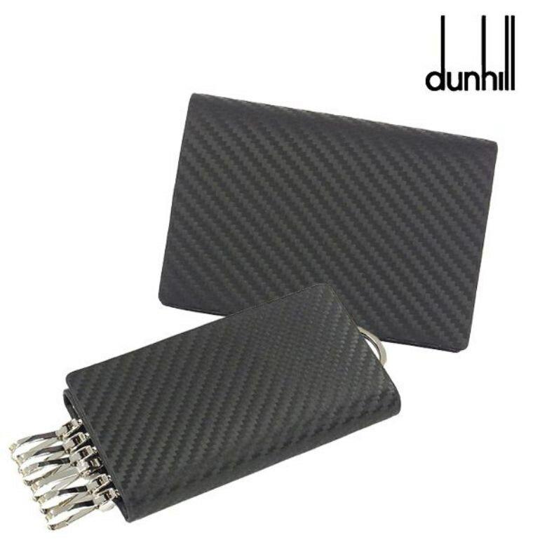ダンヒル dunhill カードケース/キーケース シャーシ ブラック L2H247A/L2H250A