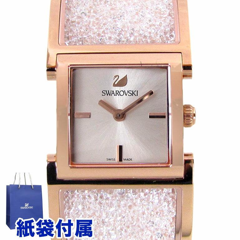 【スマホからエントリーでP10倍 3/18 10時~】スワロフスキー SWAROVSKI 腕時計 クリスタルライン バングル ローズゴールドトーン ウォッチ 5027138 SWAROVSKI スワロフスキー社製純正腕時計
