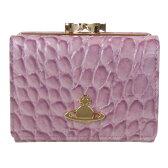ヴィヴィアンウエストウッド Vivienne Westwood 財布 三つ折り財布 ビューフォート ローザアンティーコ 1311V