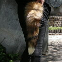 ★★ Fox fur (fur) tail key ring & bag charm (original made in Japan) free shipping in review 4.68 and super high evaluation & Rakuten ranking first place ★ email mail postage 210 yen & three or more■
