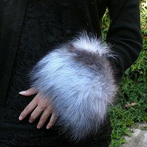 Reviews ★ ファーティペット may be! Gorgeous fox fur (fur) bangles & cuffs ■ pun _ ur