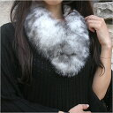 [41%OFF] ★ SAGA Fox (fur) straight muffler (tippet) clip choker [OTY] free shipping in a review■