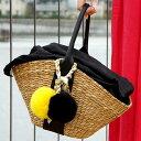 ニコちゃん スマイル かごバッグ かご バッグ バクアン かごワンハンドルバッグ スマイリーフェイス ショルダーバッグ