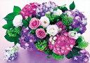 【あす楽】 ジグソーパズル EPO-71-134 フラワー シーズンフラワーズ 6月 紫陽花 花言葉 団結 108ピース