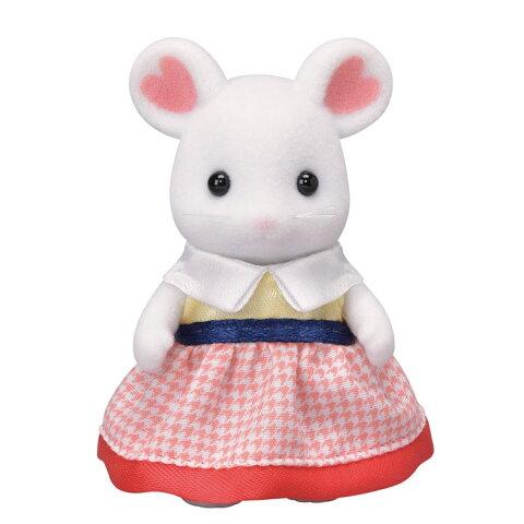ネ-106 シルバニアファミリー マシュマロネズミの女の子 おもちゃ [CP-SF] 誕生日 プレゼント 子供 女の子 3歳 4歳 5歳 6歳 ギフト お人形 シルバニア