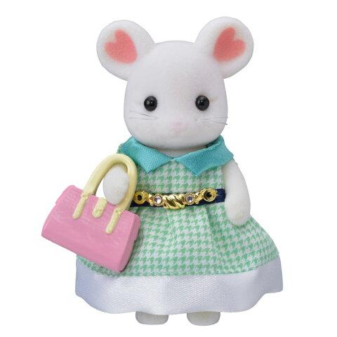 TVS-07 シルバニアファミリー マシュマロネズミのお姉さん おもちゃ [CP-SF] 誕生日 プレゼント 子供 女の子 3歳 4歳 5歳 6歳 ギフト お人形 シルバニア