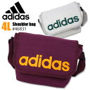 【あす楽対応】 adidas [アディダス] ショルダーバッグ ショーンシリーズ 1-46831 【メンズ】【レディース】【ACE】【ブランド】【コットン】