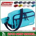 ウエストポーチ コールマン ウエストバッグ 2L coleman ウォーカーポーチ ショルダーバッグ メンズ レディース キッズ CBW6011