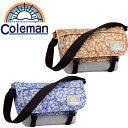 【廃盤カラー/あす楽対応】 coleman [コールマン] ショルダーバッグ 5L C-FLAP SHOULDER CBS2061 【メンズ】【レディース】【アウトドア】【斜めがけ】【ドット】