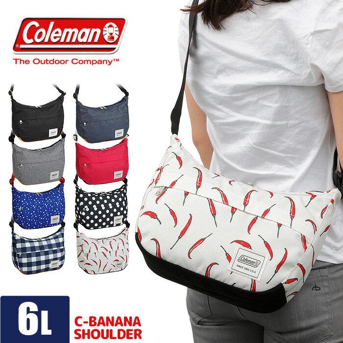 コールマン ショルダーバッグ レディース 6L C-バナナショルダー Coleman C-BANANA SHOULDER CCS5271 斜めがけ キッズ