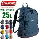 リュック coleman コールマン リュック 25L WALKER 25 CBB6501 メンズ レディース 通学 修学旅行 防災リュック 送料無料