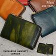 キャサリンハムネット 財布 二つ折り財布 縦型 KATHARINE HAMNETT FLUID 490-59202 P11Sep16