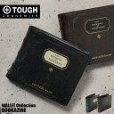 TOUGH タフ 財布 二つ折り財布 BOOKAZINE 69001 メンズ 革 バッファローレザー