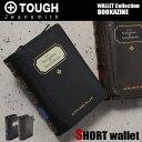 TOUGH タフ 財布 二つ折り財布 縦型 BOOKAZINE 69003 小銭入れ取り外し可能 メンズ 革 バッファローレザー
