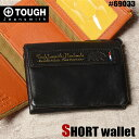 TOUGH タフ 三つ折り財布 F.L.P 69033 メンズ 革 レザー ミニ財布 送料無料
