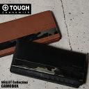 TOUGH タフ 長財布 カモボックス 69055 メンズ 革 迷彩 ブラック ブラウン ポイント2倍