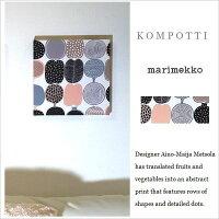 単品/廃番/KOMPOTTI/marimekko/マリメッコファブリックボード/インテリア/30×30cm/果物