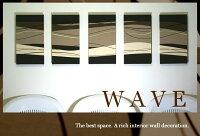 WAVE/3��3����/30×30cm/�ե��֥�å��ܡ���/����ƥꥢ�ѥͥ�/��.��.���졼