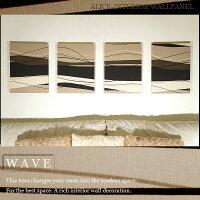 �ڸ��������/WAVEMODREN/40×30cm/4�祻�å�/�ե��֥�å��ѥͥ�/������/�������֥���ץ�