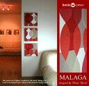 単品 ファブリックパネル アリス アリスファブリックボード 各カラー有 BORAS MALAGA 30×30cm 単品販売 マラガ インテリアパネル