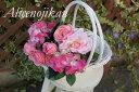 ■紫陽花ローズ アレンジブーケ ピンク 【アリスの時間】★