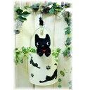 ■ネコのハンギングラウンドポット 【アリスの時間】★...