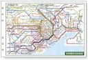 ダ・ヴィンチ 聖書サイズ・情報 広域鉄道路線図 davinci DR353 システム手帳 リフィル