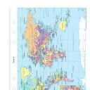 ワールドマップ A5 システム手帳用 ファイロファックス filofax 341904【楽ギフ_包装】