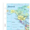 ワールドマップ バイブルサイズ システム手帳用 ファイロファックス filofax 131904【楽ギフ_包装】