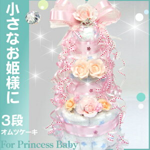 アメリカ プリンセス ダイパーケーキ シンデレラ ティアラ