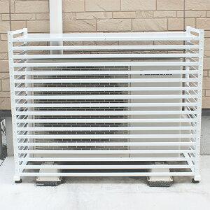 アルミ製エアコン室外機カバー3型小【送料無料】【RCP】