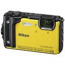 【納期約1〜2週間】Nikon ニコン W300YW デジタルカメラ COOLPIX(クールピクス) W300(イエロー) COOLPIXW300YW