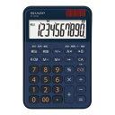 【納期約7〜10日】★★SHARP シャープ EL-M335-KX ミニナイスサイズ電卓 ネイビー系 ELM335KX