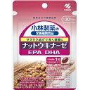 【メール便配送:最大2個まで】【代引不可】【ラッピング不可】小林製薬の栄養補助食品 ナットウキナーゼ DHA EPA 30粒(約30日分) 納豆キナーゼ