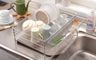 La base (reverse) NEW Dish drainer basket 3 points set large DLM-8585
