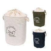 【送料無料】洗濯かご ランドリーバッグ 折りたたみ 巾着付【あす楽対応】ランドリーバック かご おもちゃ袋 収納